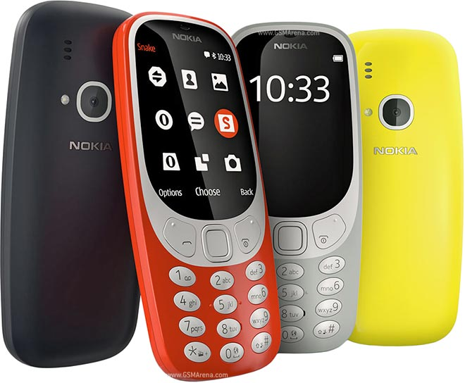 Nokia 3310 colours