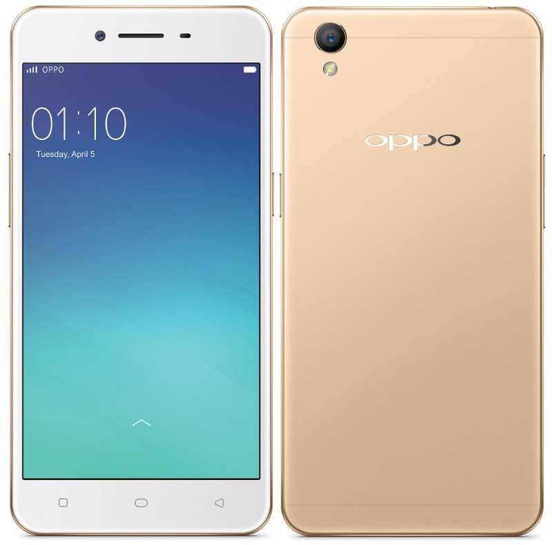 Oppo A37 - Gold - Profile